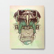 Transcendental Tourist Metal Print