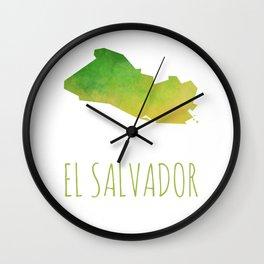 El Salvador Wall Clock