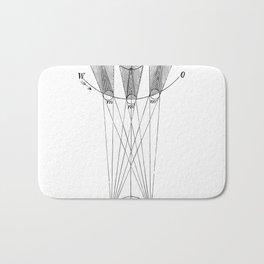Solar phases Bath Mat