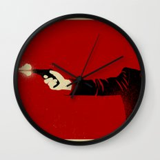 The Double Agent Wall Clock
