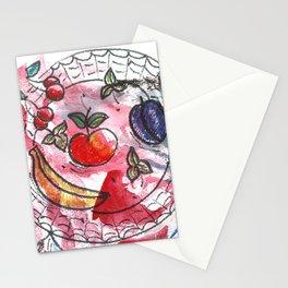 Fruit on a platter Stationery Cards