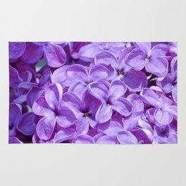 Purple Lilacs by Teresa Thompson Rug