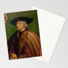 Albrecht Dürer - Portrait of Emperor Maximilian I Stationery Cards
