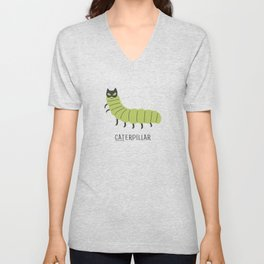 caterpillar Unisex V-Neck
