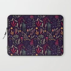 Botanical pattern Laptop Sleeve