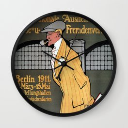Vintage poster - Berlin Wall Clock