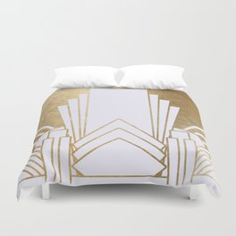 Art Deco design - blonde Duvet Cover