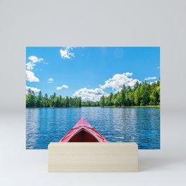 Just Keep Paddling Mini Art Print