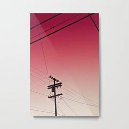 Red Dawn Metal Print