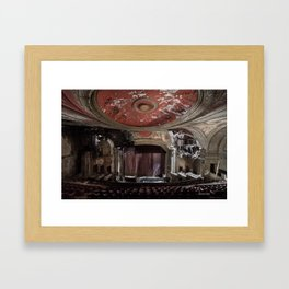Paramount Theater Framed Art Print