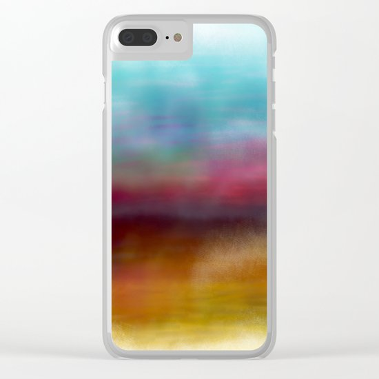 C for Colorful Clear iPhone Case