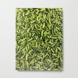 Pickle Party Metal Print