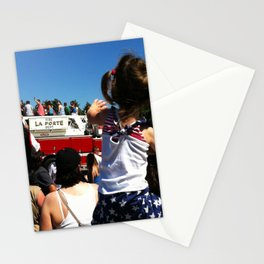 Wave to the Fireman! Stationery Cards