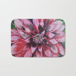 Flower Pink Bath Mat