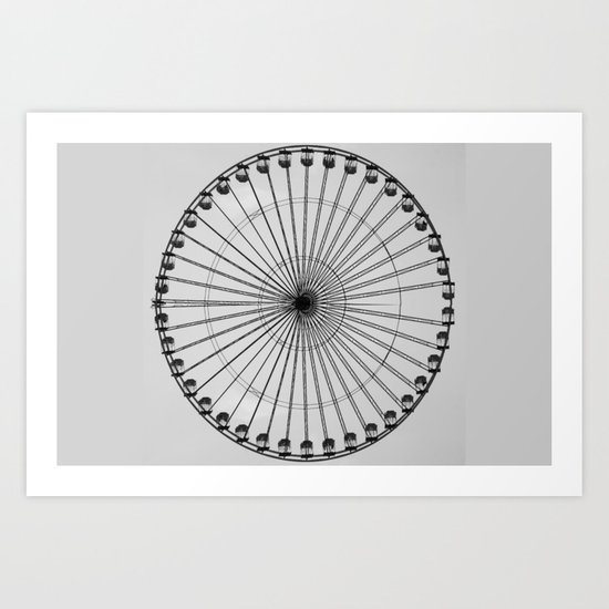 Wheel   (f) Art Print