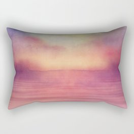 Minimal seascape 04 Rectangular Pillow