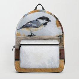 Misty Morning Meadow Backpack
