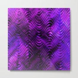 Ultra Violet Design Metal Print