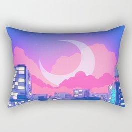 Dreamy Moon Nights Rectangular Pillow