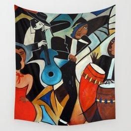 Red Hot Salsa Wall Tapestry