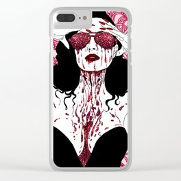 Scarlet Dita Clear iPhone Case