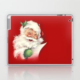 Vintage Santa Laptop & iPad Skin