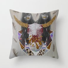 WILDFOX SPARKLE  Throw Pillow