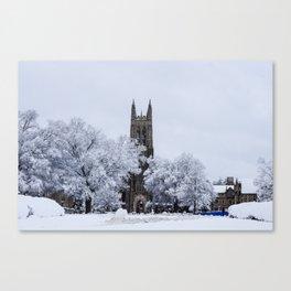 Duke Chapel Canvas Print