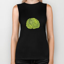 Everyday I'm Brussel Vegan Funny Vegetarian Gifts Biker Tank