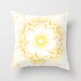 Solar Plexus Throw Pillow