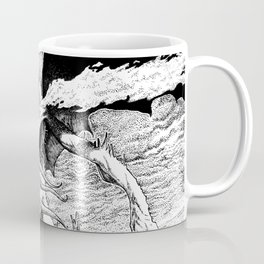 Cthulhu pen art Coffee Mug