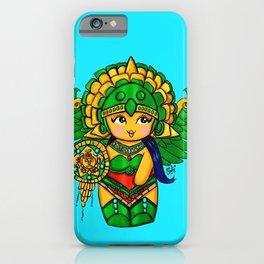 Warrior Princess Kokeshi iPhone Case