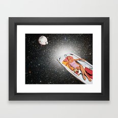 Cosmic Float Framed Art Print