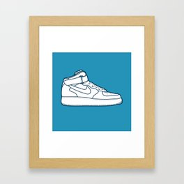 #13 Nike Airforce 1 Framed Art Print