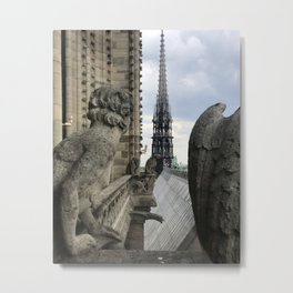 to Paris with love 3 Metal Print