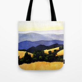 California Landscape Tote Bag