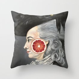 Copley Lady Throw Pillow
