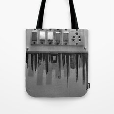 Switch On skyscrapers Tote Bag