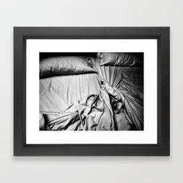beds Framed Art Print