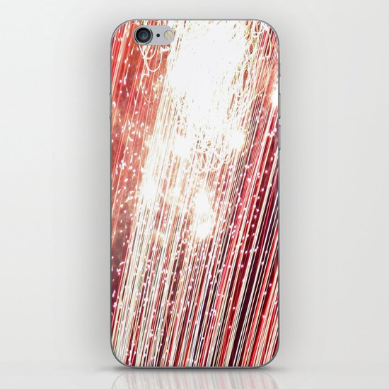 wall of red iPhone & iPod Skin