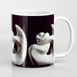 Navel string by Shimon Drory Coffee Mug
