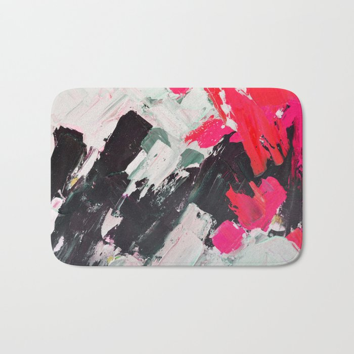 Hot Pink Franz Bath Mat
