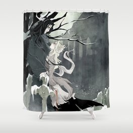 Scarko & Djavul Shower Curtain