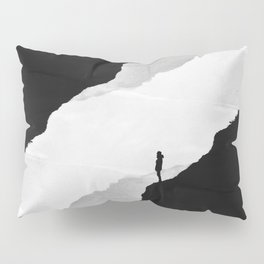 White Isolation Pillow Sham