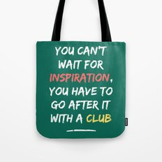 Go After Inspiration With A Club Tote Bag