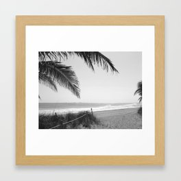 """""""Welcome to Ft. Lauderdale Beach"""" Framed Art Print"""