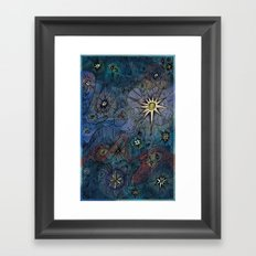 Upon a Midnight Clear Framed Art Print