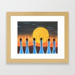 Earth Magic Rising Framed Art Print