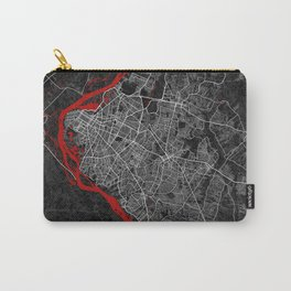 Asunción City Map of Paraguay - Oriental Carry-All Pouch
