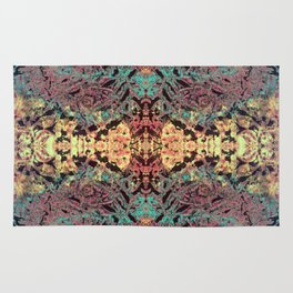 Mountain Trail Edit Invert Mirrored Rug